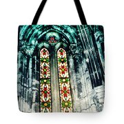 Window In The Lisbon Cathedral Tote Bag