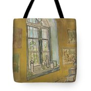Window In The Studio Saint-remy-de-provence, September - October 1889 Vincent Van Gogh 1853 - 1890 Tote Bag