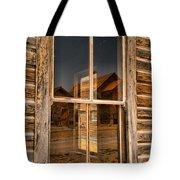 Window Into The Montana Past Tote Bag