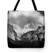 Window Into Yosemite Tote Bag