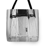 Window Lighthouse Tote Bag