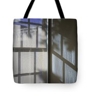 Window Lines Tote Bag