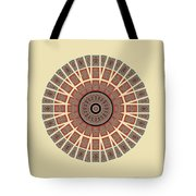 Window Mosaic - Mandala - Transparent Tote Bag