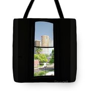 Window Of Downtown Tote Bag
