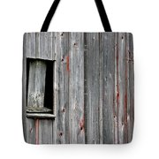 Window Of Past Times Tote Bag