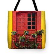 Window On Mexican House Tote Bag by Elena Elisseeva