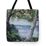 Window On Pine Island Tote Bag