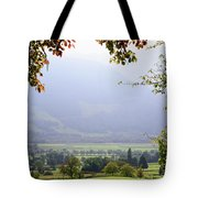 Window On The Paradise Tote Bag