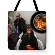 Window On The World Tote Bag