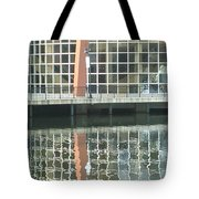 Window Reflection Tote Bag by Don Perino