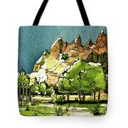 Window Rock Arizona Tote Bag