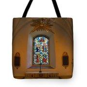 Window Teda Church Tote Bag