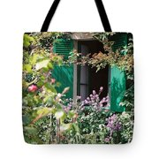 Window To Monet Tote Bag