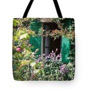 Window To Monet Tote Bag