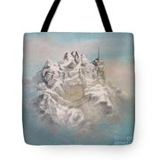 Window To Sky Tote Bag