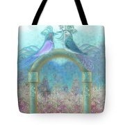 Window To Spring 4 Tote Bag