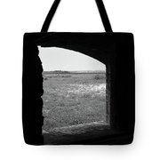 Window To The Battle Field Tote Bag