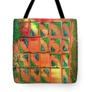 Window To The Garden Tote Bag