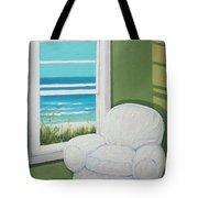 Window To The Sea No. 2 Tote Bag