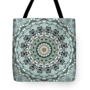 Window To The World Mandala Tote Bag