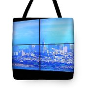 Window View Of San Francisco Tote Bag