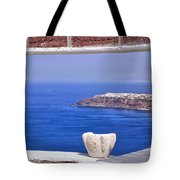 Window View To The Mediterranean Tote Bag