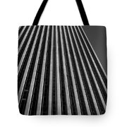 Window Washers View - Black And White Tote Bag