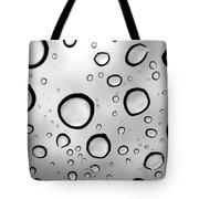 Window Waterdrops B Tote Bag