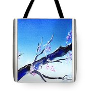 Window With The Mountain View Tote Bag
