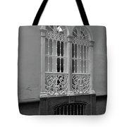 Windows At Cadiz Bw Tote Bag