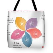 Windows Live Mail Contacts Converter Tote Bag