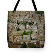 Windows Of Bernal Heights Tote Bag