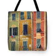 Windows Of Portofino Tote Bag