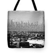 Windows Of The Baltimore World Trade Center Tote Bag