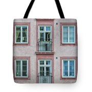 Windows Of The French Style Tote Bag