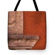 Windowsill And Orange Wall San Miguel De Allende Tote Bag