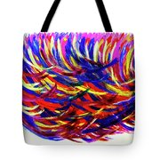 Winds Of Paint Tote Bag