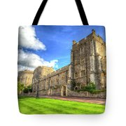 Windsor Castle Architecture Tote Bag