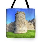 Windsor Castle Battlements  Tote Bag