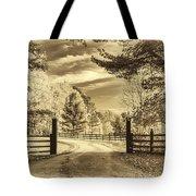 Windstone Farm - Sepia Tote Bag