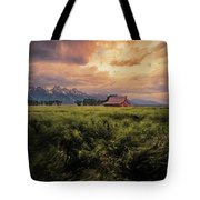 Windstorm On The Prairie Tote Bag