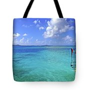 Windsurfing The Islands Tote Bag