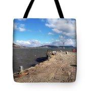 Windswept Cobb - Lyme Regis Tote Bag