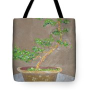 Windswept Juniper Tote Bag by Leah  Tomaino