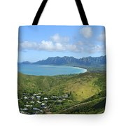 Windward Oahu Panorama IIi Tote Bag