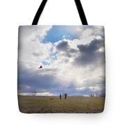 Windy Kite Day Tote Bag by Bill Cannon