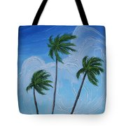 Windy Palms Tote Bag
