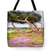 Windy Tree Tote Bag