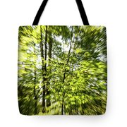 Windy Trees Tote Bag