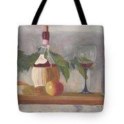 Italian Wine And Cheese Tote Bag